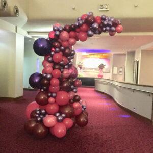 Balloon Arc 5 Red Balloon Cork Balloons Delivered