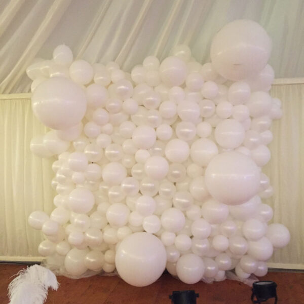 Balloon Wall 5 POA Red Balloon Cork Balloons Delivered