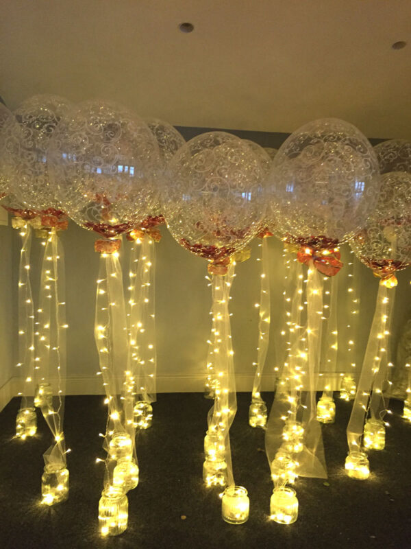 Balloons with Lights from 50 per balloon Red Balloon Cork Balloons Delivered