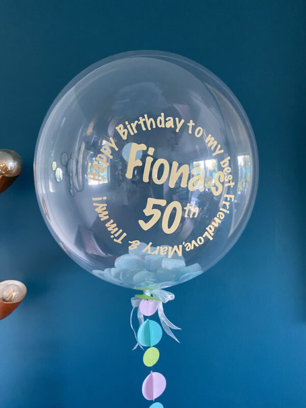 Clear Balloon Delivered Ireland