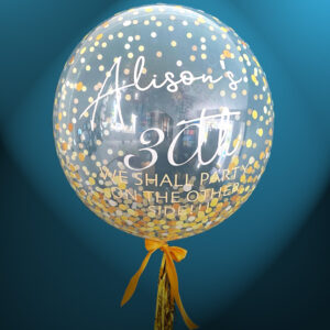 Gold Dots Balloon Delivered 4