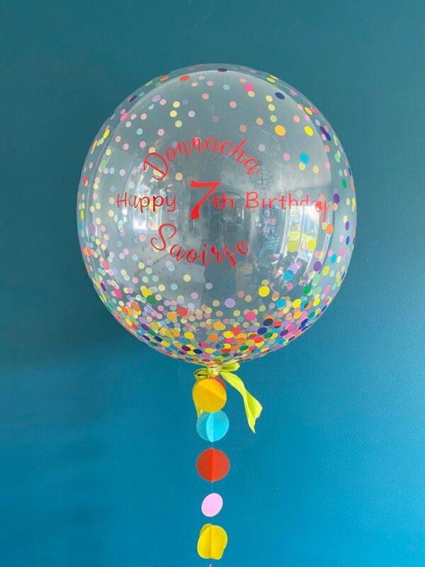Multi spot balloon delivered