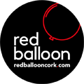 Red Balloon Cork Balloon Delivery Logo b