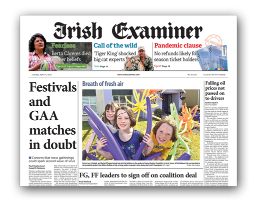Red Balloon Delivery Front Page Examiner