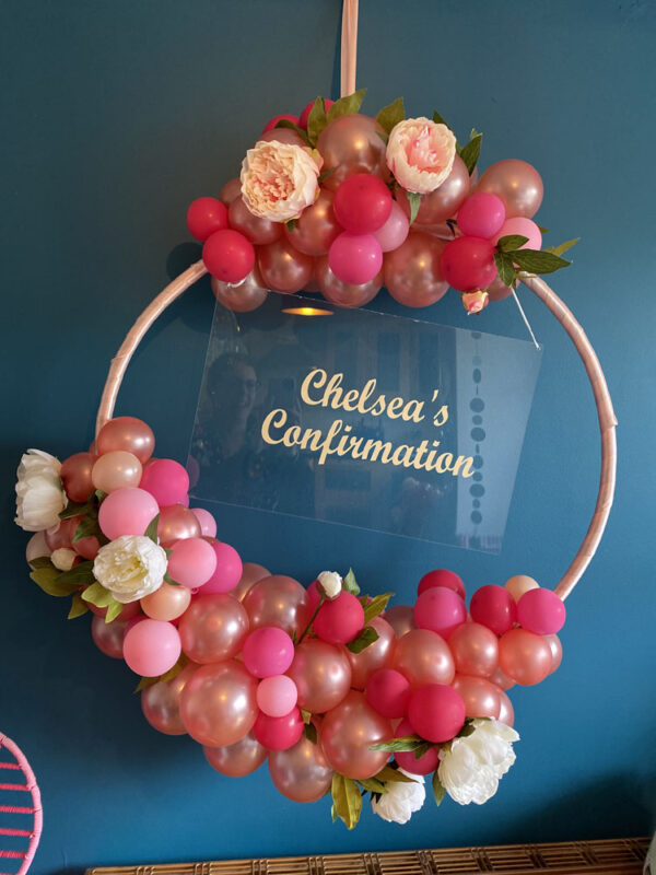 Rich Pink Balloon Hoop 1 Ys Delivered Ireland