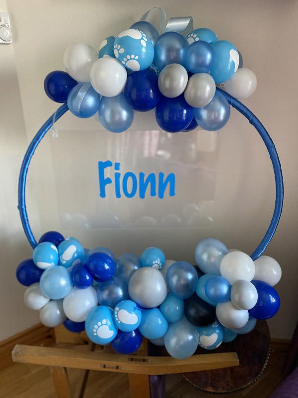 Blue Balloon Hoop Delivered Ireland s