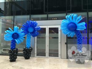 Blue Flower Pillars M101