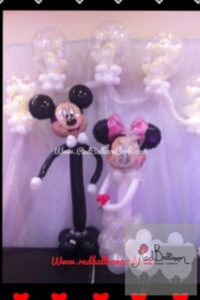 Mickey And Minnie Mouse Wedding W108