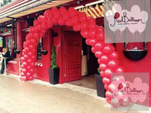 Red Balloon Entrance Arch M128