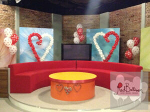 TV Studio Set Decoration M135