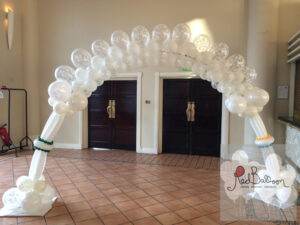 Wedding Arrival Balloon Arch W115