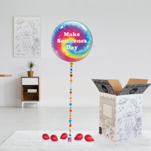 Tie Dye Vibrant Build a Balloon
